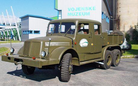 Den automobilní techniky ve Vojenském muzeu Králíky