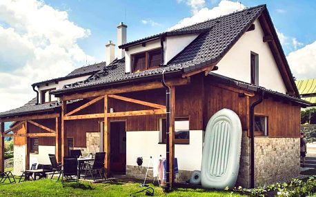Vila na Lipně: spaní až pro 5 os., terasa, zahrada
