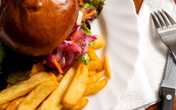 2x Pulled Pork burger2