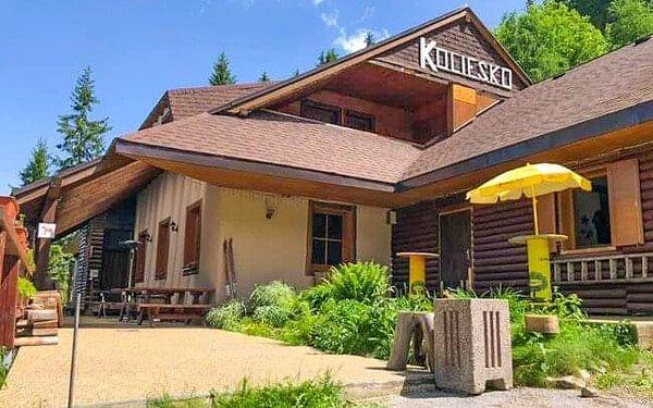 Nízké Tatry: Léto v Jasné pod Chopkem v nejvýše položené horské Chatě Koliesko s polopenzí a welcome drinkem