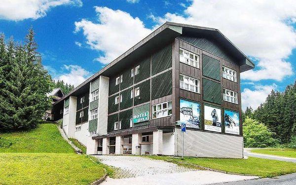 Krkonošský hotel Lenka se vstupy na lanovku, polopenzí a saunou