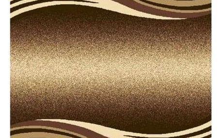 Spoltex Kusový koberec Enigma 9358 Brown, 120 x 170 cm