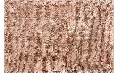 AmeliaHome Koupelnová předložka Bati světle hnědá, 60 x 90 cm