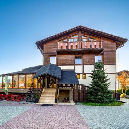 Vysoké Tatry v Hotelu Eufória *** s privátním wellness (vířivka, sauna) a chutnou polopenzí + láhev vína