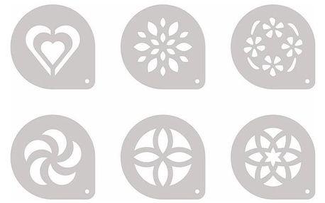 Šablony myDrink na cappuccino, 6 ks Tescoma 308850