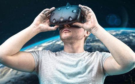 30–60 min. ve virtuální realitě s HTC Vive či na PS5
