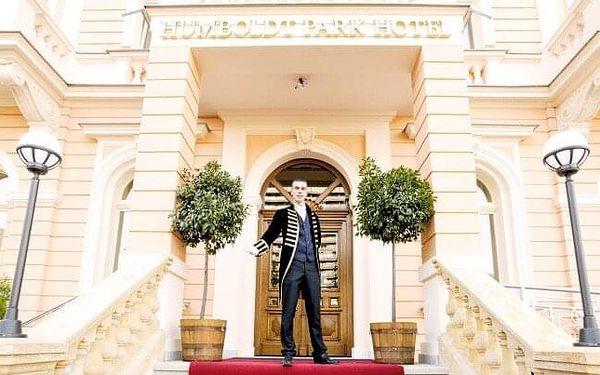 Karlovy Vary: Humboldt Park Hotel & Spa **** se snídaní či polopenzí, neomezeným wellness a až 3 procedurami