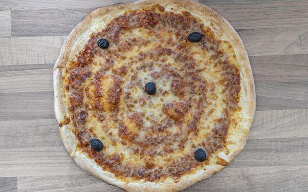 2x pizza (průměr 33 cm) dle výběru2
