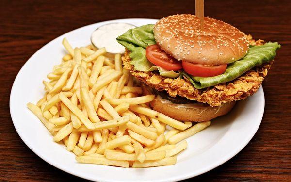 1x burger dle výběru4