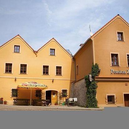 Jižní Morava: Penzion Zatisi