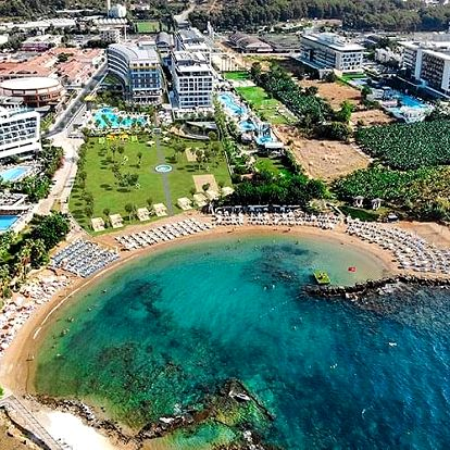 Turecko - Alanya letecky na 12-14 dnů, ultra all inclusive