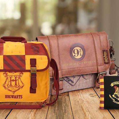 Peněženky, batohy i kabelky s motivy Harry Pottera