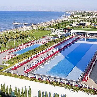 Turecko - Belek letecky na 7-15 dnů, ultra all inclusive