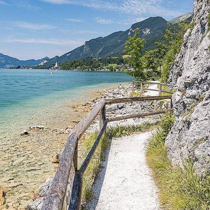 Cyklovýlet kolem jezera Wolfgangsee vč. dopravy