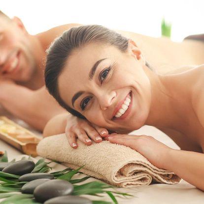 60minutová thajská masáž pro dva podle výběru