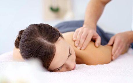 60minutová masáž od zrakově postižených masérů