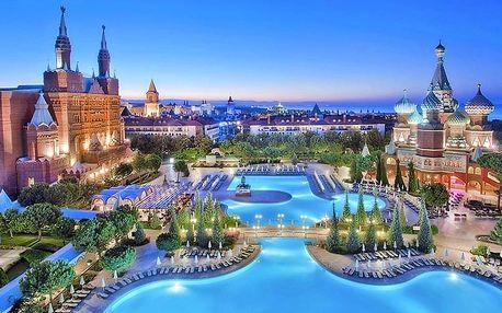 Turecko - Antalya letecky na 7-15 dnů, ultra all inclusive