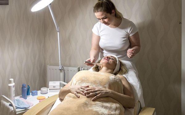 Kosmetické ošetření, zábal i masáž zad a šíje (75 minut)2