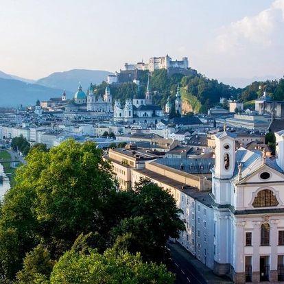 Moderní hotel v centru Salzburgu bez stravy 4 dny / 3 noci, 2 os., bez stravy