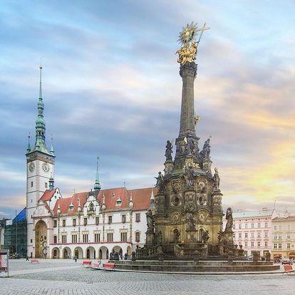 Odpočinkový pobyt v krásné Olomouci v moderním 4* hotelu 4 dny / 3 noci, 2 os., snídaně