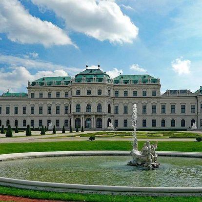 Okouzlující pobyt pro dva ve Vídni 4 dny / 3 noci, 2 os., snídaně