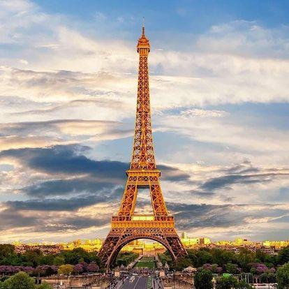 Paříž: nádherný víkend pro 2 plný romantiky 4 dny / 3 noci, 2 osoby, snídaně