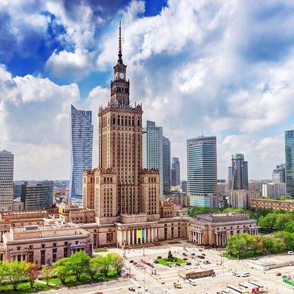 Vzrušující pobyt ve Varšavě ve zbrusu novém AO Hotelu 4 dny / 3 noci, 2 os., snídaně