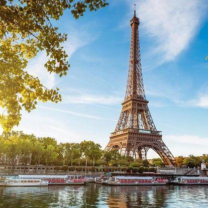 Romantický pobyt v Paříži v hotelu se 100% doporučením 4 dny / 3 noci, 2 osoby, snídaně