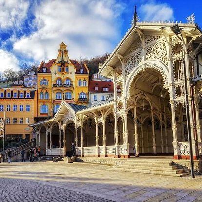 Karlovy Vary – wellness a relaxace v centru lázní vč. POLOPENZE 4 dny / 3 noci, 2 osoby, polopenze