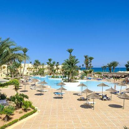 Tunisko - Zarzis letecky na 5-23 dnů, all inclusive