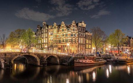 Fantastický pobyt na předměstí Amsterdamu za skvělou cenu 4 dny / 3 noci, 2 os., snídaně