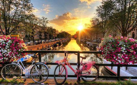 Romantický pobyt v Amsterdamu včetně 1 večeře o 3 chodech 4 dny / 3 noci, 2 os., snídaně + 1x večeře