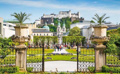 Romantický pobyt v Salzburgu v designovém hotelu 4 dny / 3 noci, 2 os., snídaně