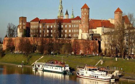 Skvělý pobyt v romantickém Krakově 4 dny / 3 noci, 2 os., snídaně