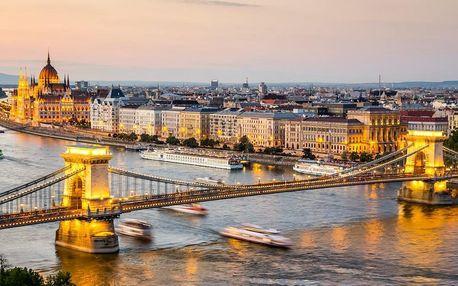 Romantický pobyt v Budapešti v nově otevřeném hotelu 4 dny / 3 noci, 2 os., snídaně