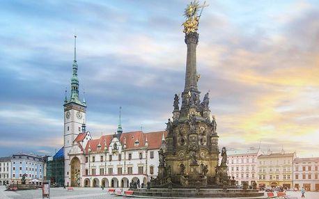 Odpočinkový pobyt v krásné Olomouci v moderním 4* hotelu 4 dny / 3 noci, 2 osoby, snídaně