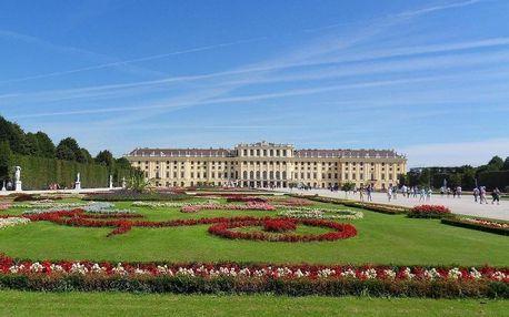 Fantastické ubytování ve Vídni u Schönbrunnu 4 dny / 3 noci, 2 osoby, snídaně