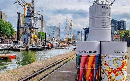 Ubytování v centru přístavního města Rotterdam 4 dny / 3 noci, 2 os., snídaně
