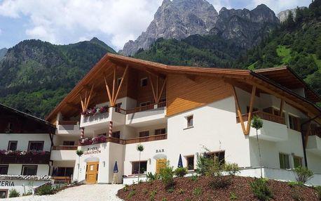 Kouzelné Jižní Tyrolsko: wellness a děti zdarma 4 dny / 3 noci, 2 osoby, snídaně + 1x večeře