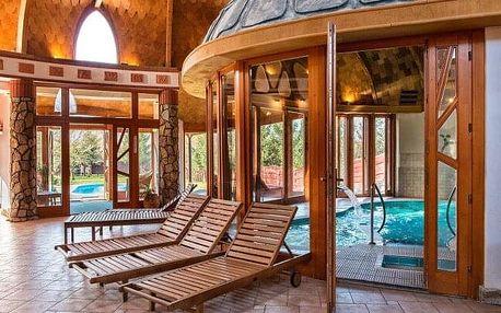 Maďarsko v luxusním Hotelu Piroska **** s neomezeným wellness, vstupem do lázní Bükfürdo + polopenze