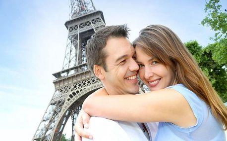 Nádherný víkend v Paříži v hotelu na Seině 4 dny / 3 noci, 2 os., snídaně