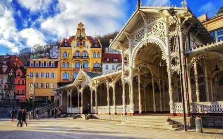 Karlovy Vary – wellness a relaxace v centru lázní vč. POLOPENZE 4 dny / 3 noci, 2 os., polopenze