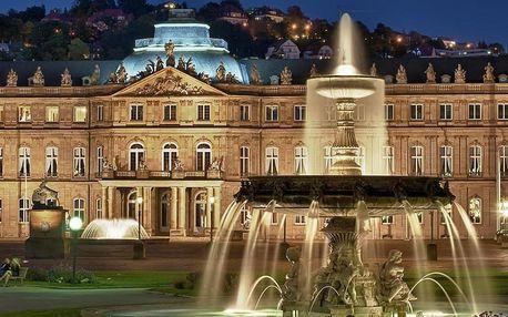 Stuttgart – odpočinkový víkend pro milovníky automobilismu i dobrého vína 4 dny / 3 noci, 2 osoby, snídaně