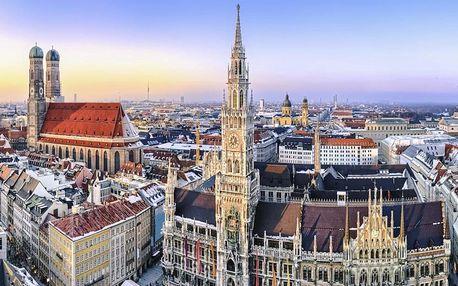 Víkend v Mnichově: bavorská metropole i odpočinek v přírodě 4 dny / 3 noci, 2 os., snídaně