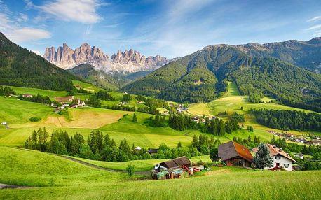 Malebný horský hotel v Dolomitech u Passo Cereda 4 dny / 3 noci, 2 os., snídaně