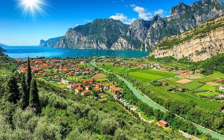 Aktivní dovolená u jezer Lago di Ledro a Lago di Garda 4 dny / 3 noci, 2 os., snídaně