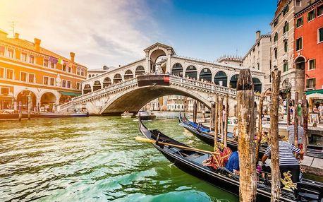 Romantický pobyt v Benátkách v moderním hotelu 4 dny / 3 noci, 2 os., snídaně