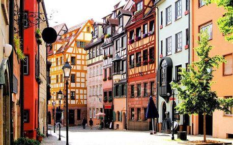 Top poloha v centru města, top cena – skvělý pobyt v okouzlujícím Norimberku pro dva! 4 dny / 3 noci, 2 os., snídaně