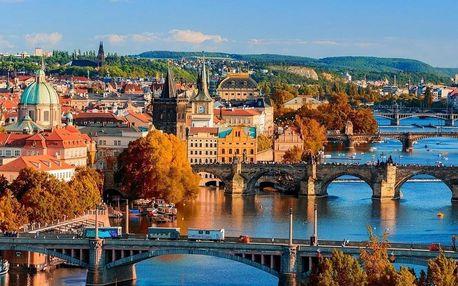 4* pobyt v Praze: prvotřídní hotel se skvělým spojením do centra 4 dny / 3 noci, 2 os., snídaně
