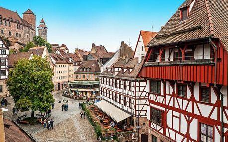 Nádherný pobyt v Norimberku – 4* hotel přímo v historickém centru s bazénem a saunou 4 dny / 3 noci, 2 os., snídaně